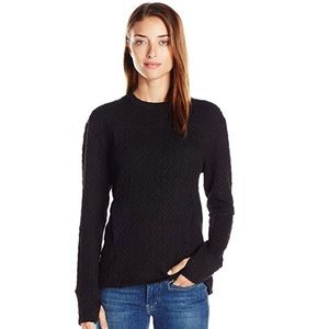 Black pullover athletic wear by Shape L